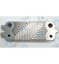 Теплообменник Bosch  16 пластин вторичный (ГВС)   (87186446250)